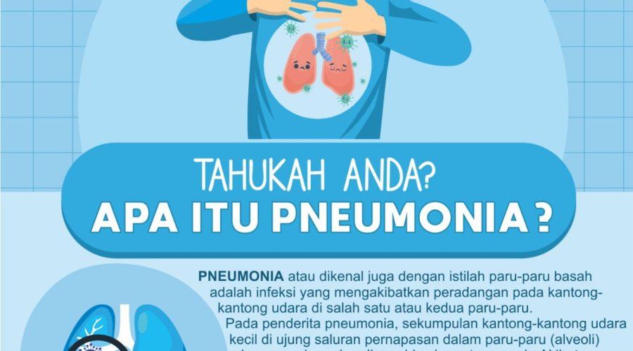 Bahaya Pneumonia saat menyerang paru–paru, darah dan otak pada Manusia