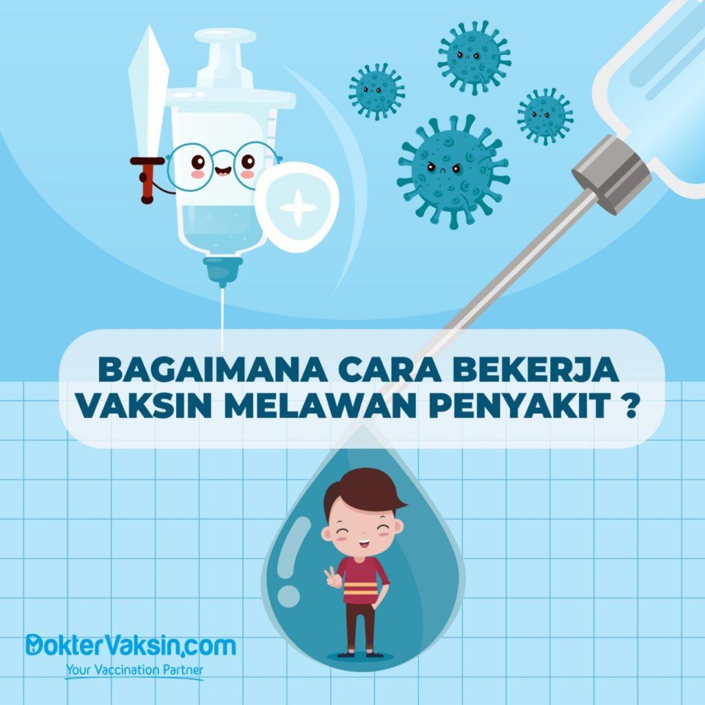 Cara Vaksin Bekerja Mencegah Penyakit
