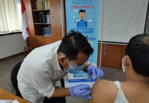 Kegiatan Vaksin Influenza BRI Hayam Wuruk - Jakarta #3