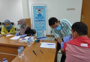 Kegiatan Vaksin Influenza BRI S PArman - Jakarta #2